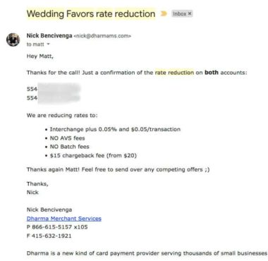 Wedding-Favors-Negotiation-Results